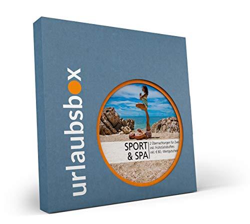 Urlaubsbox Sport & Spa Kurzurlaub für Zwei in Geschenkbox