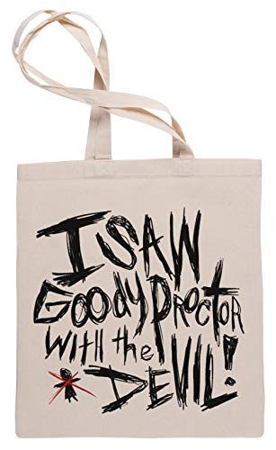 I Saw Goody Proctor with The Devil! - The Crucible Einkaufstasche Tote Beige Shopping Bag