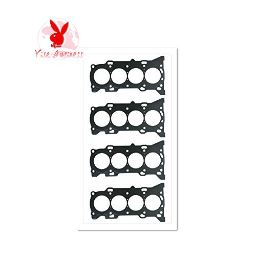 yise-P461 New 4pcs Fits For TOYOTA CAMRY SALOON 2.5L 1ARFE 1AR-FE 2ARFE 2AR-FE Cylinder Head Gasket Automotive Spare Parts Engine Gasket 11115-36030