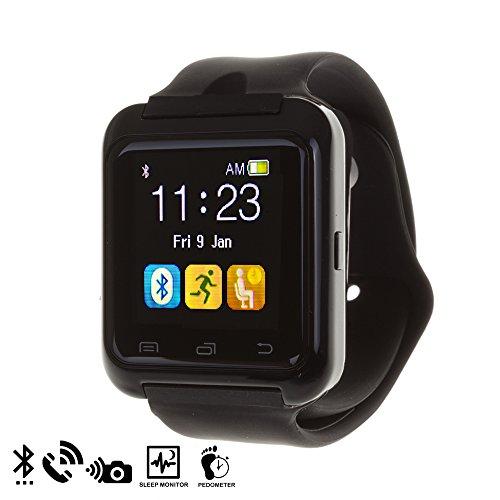 DAM, U80 Bluetooth Watch, Nero