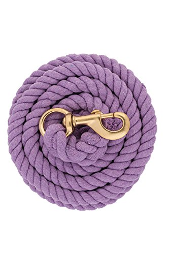 Weaver Leather Cotton Lead Rope, Lavender