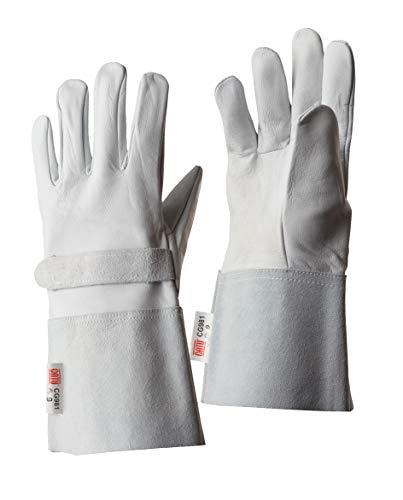 Leder-Handschuhe für isolierende Handschuhe, Größe 11