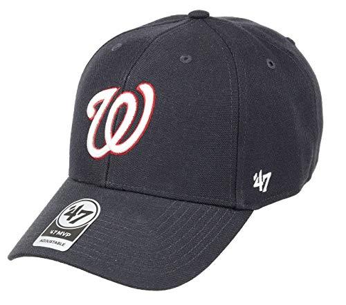 47 Brand Washington Nationals Adjustable Cap MVP MLB Navy - One-Size