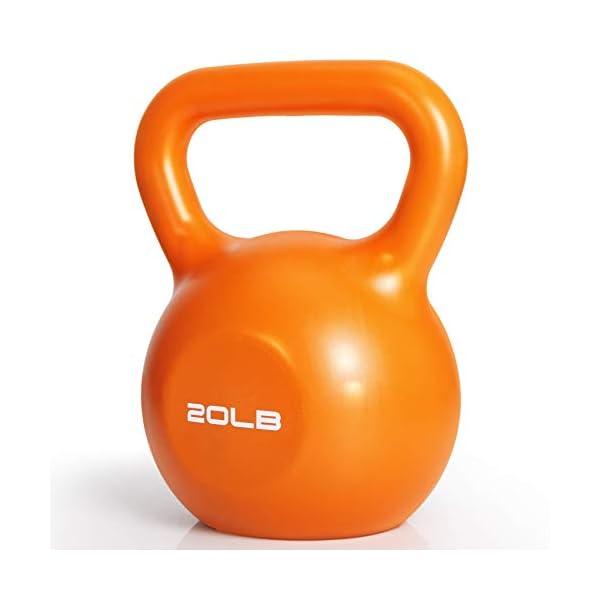 Kettlebell Weight Set, TopMade Cast Iron Adjustable Kettlebell Set Strength Training...