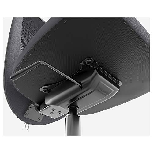 BestOnlineDeals01 Silla de oficina FLINTAN Vissle negro, 74x69x102 cm, resistente