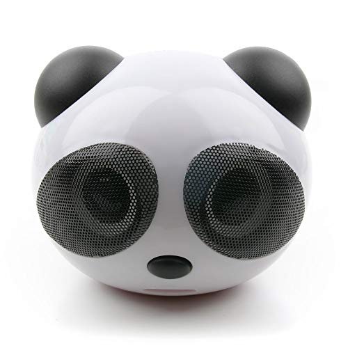DURAGADGET Altavoz con diseño de Oso Panda para portátil Toshiba Portégé X20W-D,...