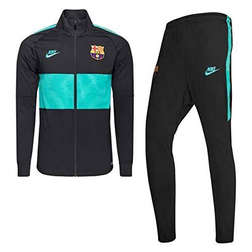 Nike Herren FC Barcelona Strike Trainingsanzug, Dunkles Rauchgrau/Cabana/Cabana, 2XL
