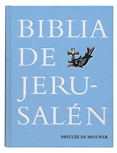 BIBLIA DE JERUSALEN MANUAL TELA 5ª EDICION: 5ª edición Manual totalmente revisada - Modelo Tela (Biblia de Jerusalén)