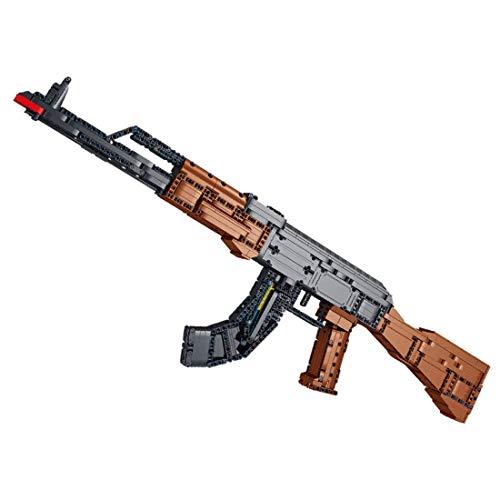 SDUK Rifle de Bloques de construcción Technik, Kit de Armas bláster de Bloques de construcción con función de Disparo, 1508 Piezas compatibles con Ladrillos Lego