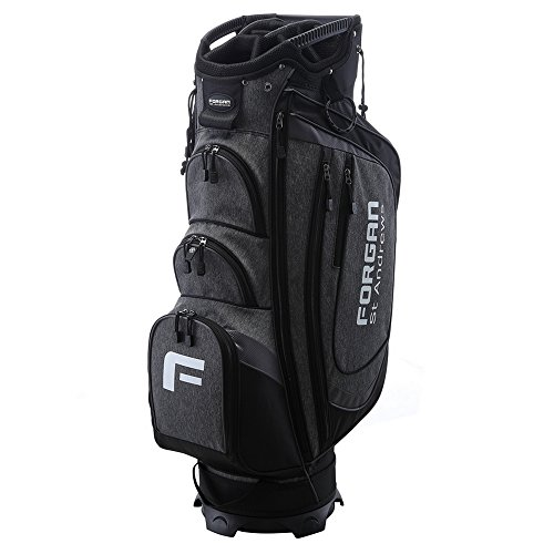 The Country Club by Forgan of St Andrews Deluxe Golf Cart Bag with 14 Dividers