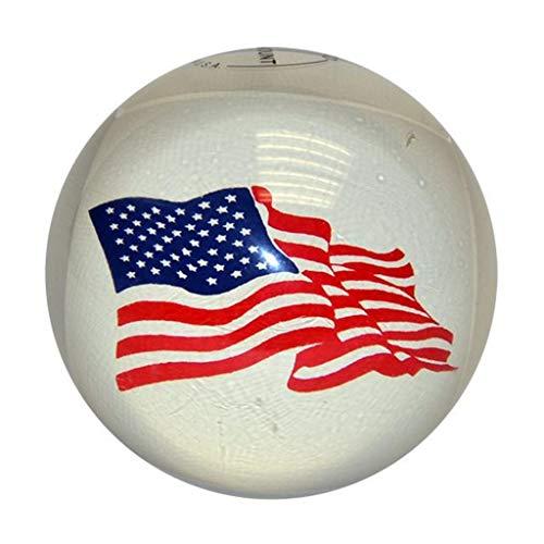 USA Flag Candlepin Bowling Ball (2lbs 6 Ounces)