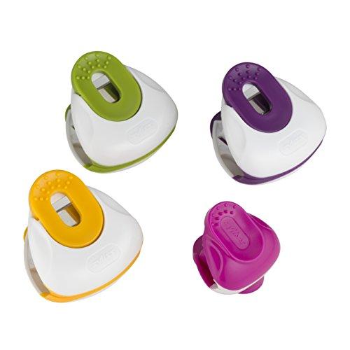 Zyliss clip-all bolsa Clips, multicolor, grande, 4 piezas, p