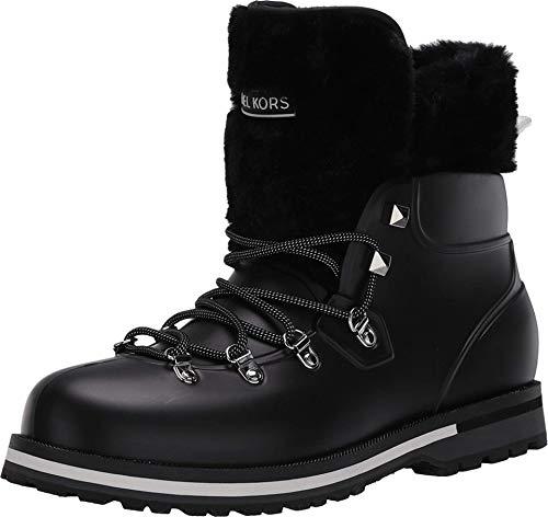 Michael Michael Kors Lanis Rainbootie Black 6