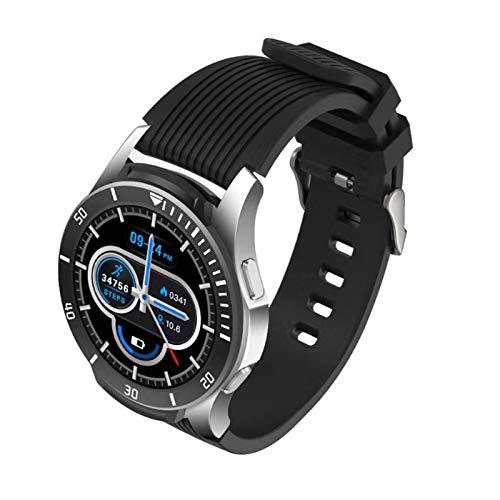 PQZATX Anruf Intelligente Uhr Vollbild Kontakt Herz Frequenz Messer wasserdichte M?Nner Intelligente Uhr für IOS Android Band Uhren