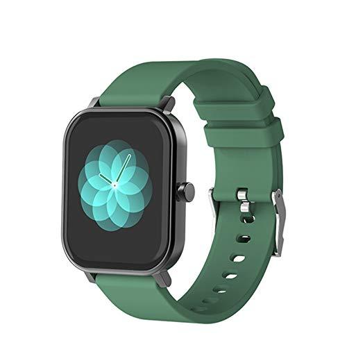 VBF Smart Watch, S10 Men, 1.69 Pulgadas, Rastreador De Fitness, IP68 Impermeable, Reloj Inteligente Mujer Smartwatch para Android iOS,A