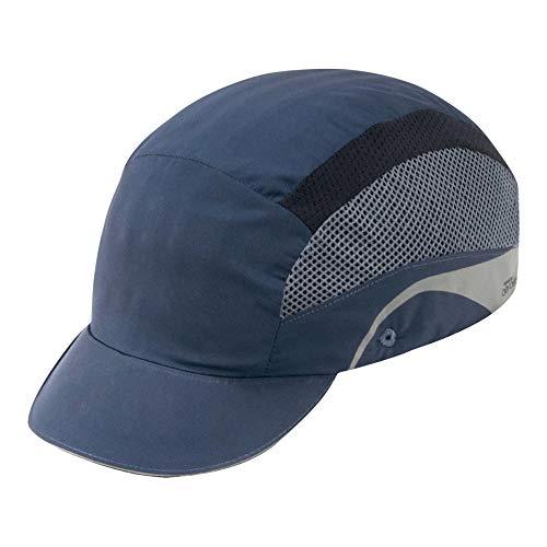 JSP aaf000–002–100–HARDCAP Aerolite Short Peak Bump Cap, 5cm), color azul marino