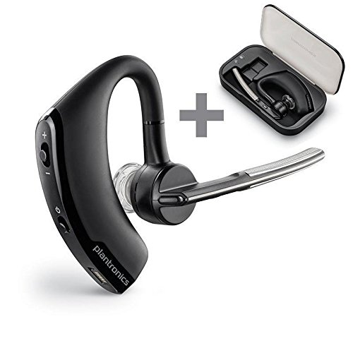 Plantronics Auricolare Bluetooth Wireless per Telefono Voyager Legend con Case, Nero