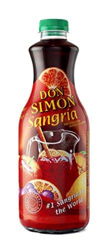 Don Simon Pet Sangria de 7º - Paquete de 6 botellas de 1.5 - Total 9 L