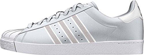 adidas Skateboarding F37463 Superstar Vulc White White EU 43 1/3