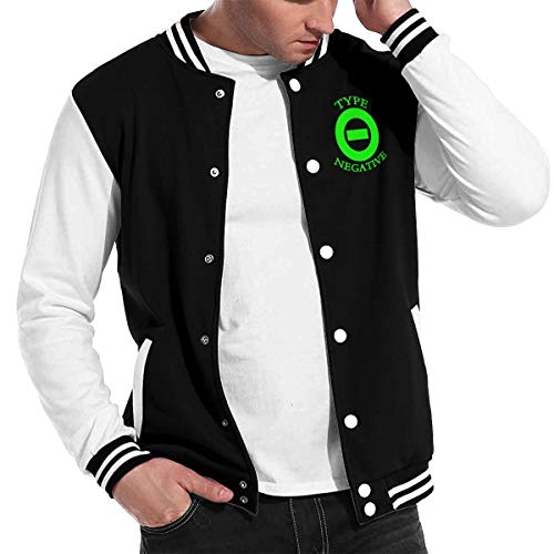Lucyhu Herren Kapuzenpullover Type O Negative Pullover Kapuzenjacke Langarm Black XXL Sweatshirt Kapuze Für Männer Bekleidung