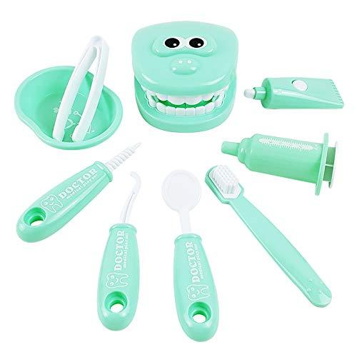LGLG Juego de 9 piezas para niños, doctores, enfermeras, dentistas, maletín de médico, juguetes educativos, juguetes infantiles para niñas.