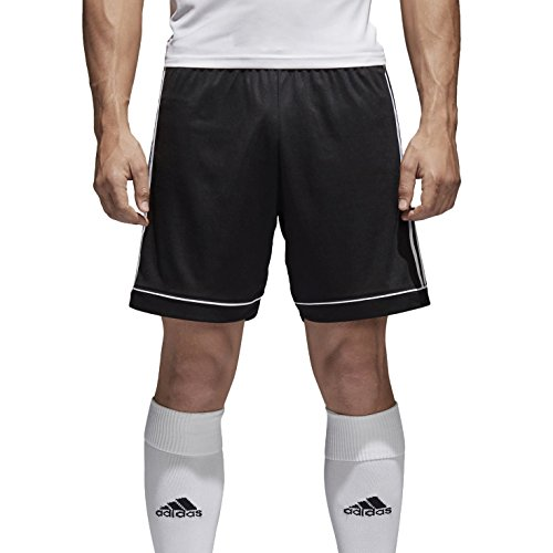 adidas Squad 17 Sho, Pantaloncini Uomo, Nero/Bianco, M