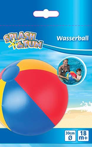 VEDES Großhandel 77802347 Splash & Fun Strandball uni, 30cm