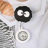 dihui Reloj de enfermería,Reloj de Enfermera retráctil, Reloj de Bolsillo Impermeable luminoso-34,Reloj de Bolsillo Enfermera