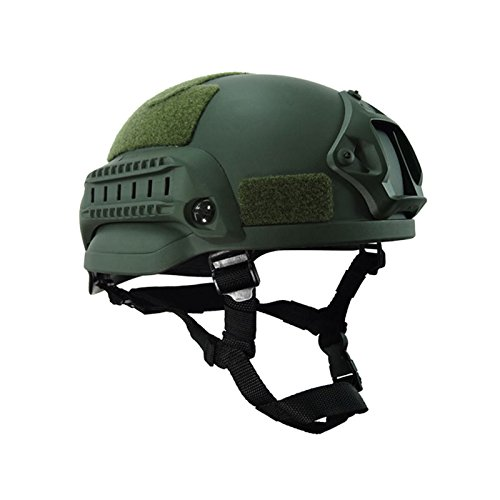 lzndeal Military Tactical Mich 2000 Casque Armement Combat Head Protector Airsoft Wargame Paintball Field Gear Accessoires