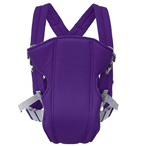 Mochilas Portabebés Ergonómicas Infant Kids Baby Hipseat Sling Front Facing Kangaroo Baby Wrap Carrier Baby Travel Pouch Wrap   Purple