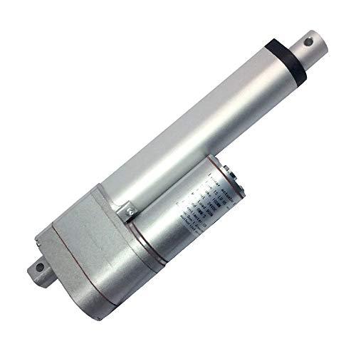 Carrera 100 mm 4'12V Velocidad del actuador lineal 20MM / S 450N con potenciómetro