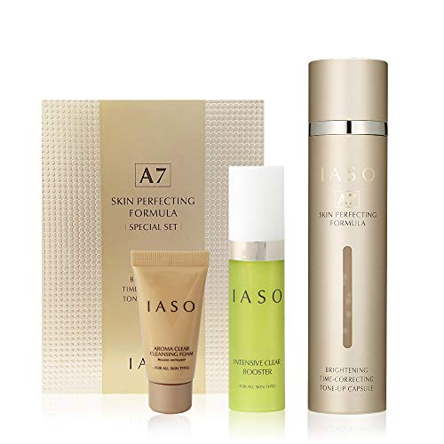 IASO A7 SKIN PERFECTING FORMULA 1.69oz | For all skin type serum | Lifting | brightening | tone-up