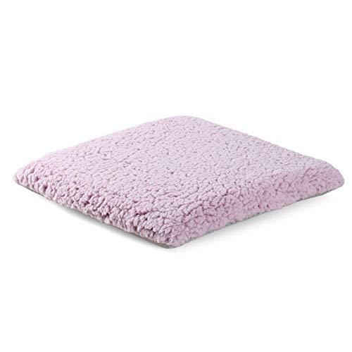 HEWEI Knuffel Kussen Memory Foam Stirrup Kussen Anti-slip Kussen voor Stoel Kussen voor Børostuhl Handicapped Cars Wonen in Blauw-A 40x40cm (16x16inch) 40x40cm(16x16inch) Pink-a