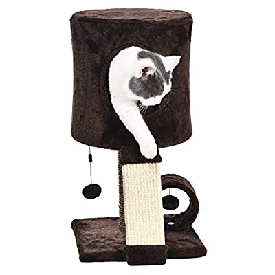 Cat Tree AmazonBasics Cat Tree Tower With... [tag]