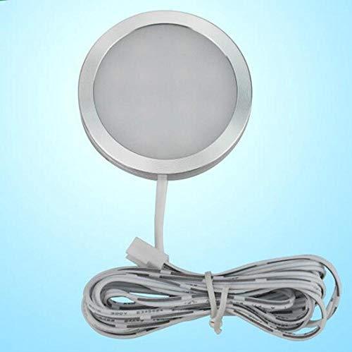 Spotbalken plafondspot wandspots spotlampen onder kastlichten LED puck licht keuken ronde 12V bar plank LED kast kast kast vitrine lade kledingkast binnenverlichting