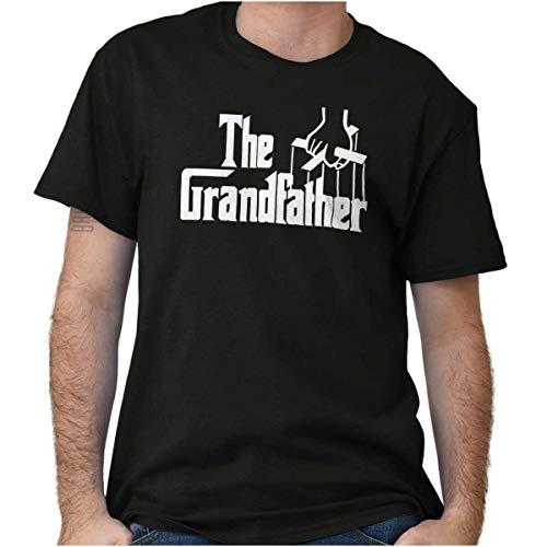 Brisco Brands Grandfather Italian Mafia Puppet Crewneck Tees T Shirt Men...