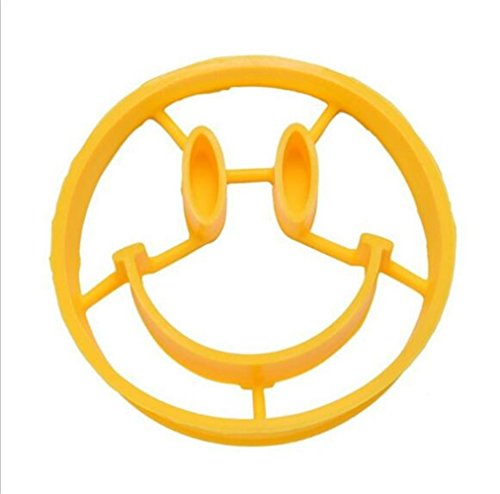 MLM Egg Rings Shaper Funny Creative Tool Omelette Mold Tools 5Pcs Kitchen Breakfast Cute Smiley Face Fried Egg Mold Pancake