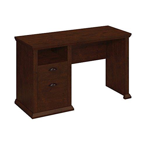 Bush Furniture Yorktown Home Office Desk in Antique Cherry,