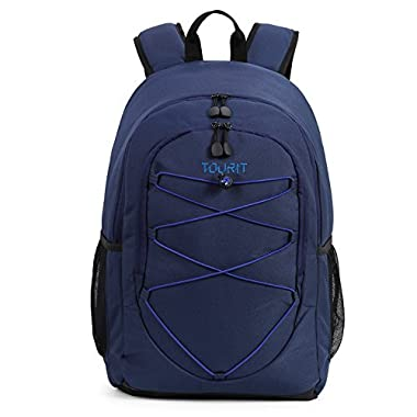 TOURIT Insulated Cooler Backpack Soft Cooler Lightweight Backpack with Cooler for Lunches, Picnics, Hiking, Beach, Park or Day Trips, 28 Cans