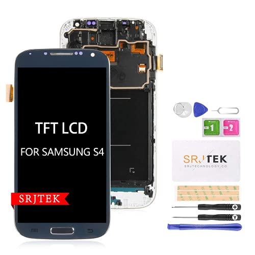 Per Samsung Galaxy S4 i9500 Schermo di ricambio TFT LCD Screen per Samsung Galaxy S4 2013 GT-I9500 LET GT-I9500 Display Touch Digitizer Assemblea Vetro (non AMOLED) (blu)