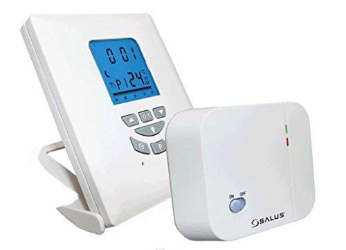 salus T105RF-Termostato Digital programable con Inicio retardado