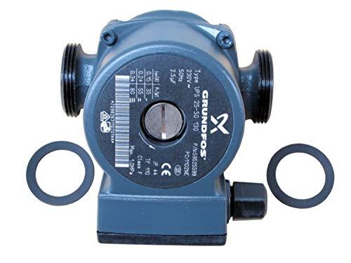 Buderus Sieger Pumpe UPS 25-50 130mm MK3, Anschluss: G1 1/2 Außen, 11 SBG, Herst.-Nr. 7098263 / 7098991
