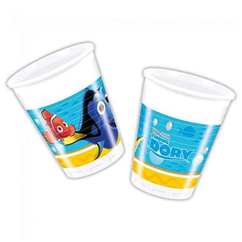 Bicchieri Disney Alla ricerca di Dory - 8 pezzi