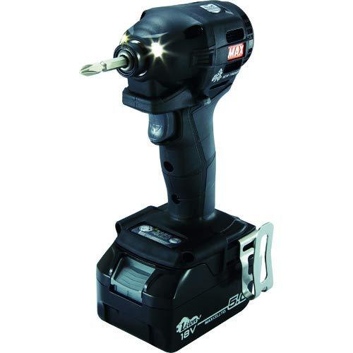 マックス(MAX) MAX 充電式ブラシレスインパクトドライバ(黒) PJ-ID152K-B2C/1850A (PJ91187)