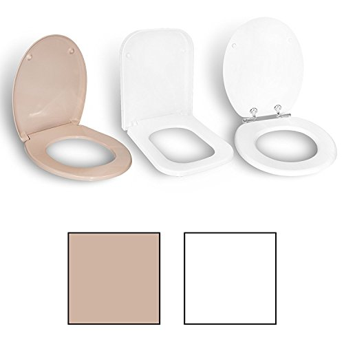 Handson Toiletdeksel, soft-close deksel, toiletbril, softclose-sluiting, wc-deksel, wc-bril, wc-deksel Modell Armo