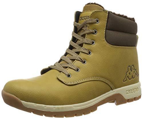 Kappa Herren WOAK Sneaker, Beige (Beige/Brown 4150), 43 EU