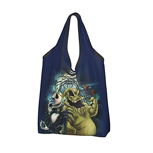 Demon Slayer Bag Bolsa de compras reutilizable Bolsas de mano respetuosas del medio ambiente Bolsa grande...
