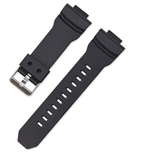 Shieranlee Bracelet Compatible avec Casio G-Shock GA-150/200/201/300/310/GLX Men Sport Waterproof Replace Bracelet Band Strap Watch Accessories