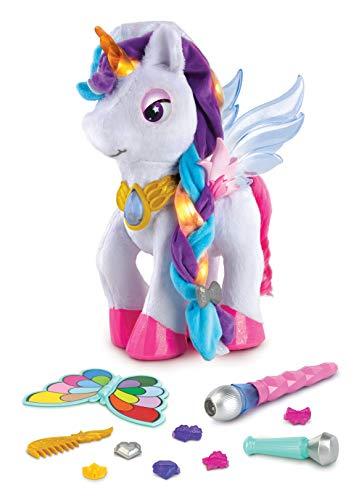 VTech 80-182574 Mila, Mi Unicornio mágico, Mascota electrónica, Peluche Funcional, Multicolor