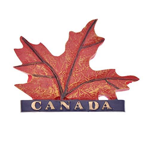 Hongma Kühlschrankmagnet Maple Leaf Canada Rot Pinnwand Whiteboard Dekor